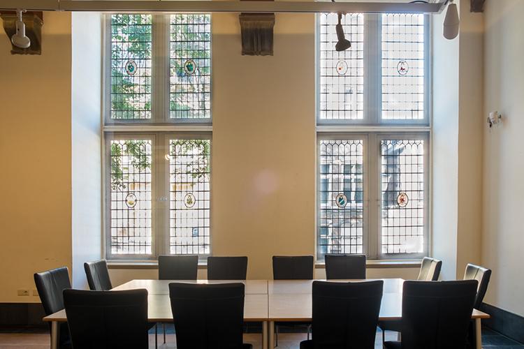 Grote Zaal Achter Zitplaats De Kanselarij Leeuwarden
