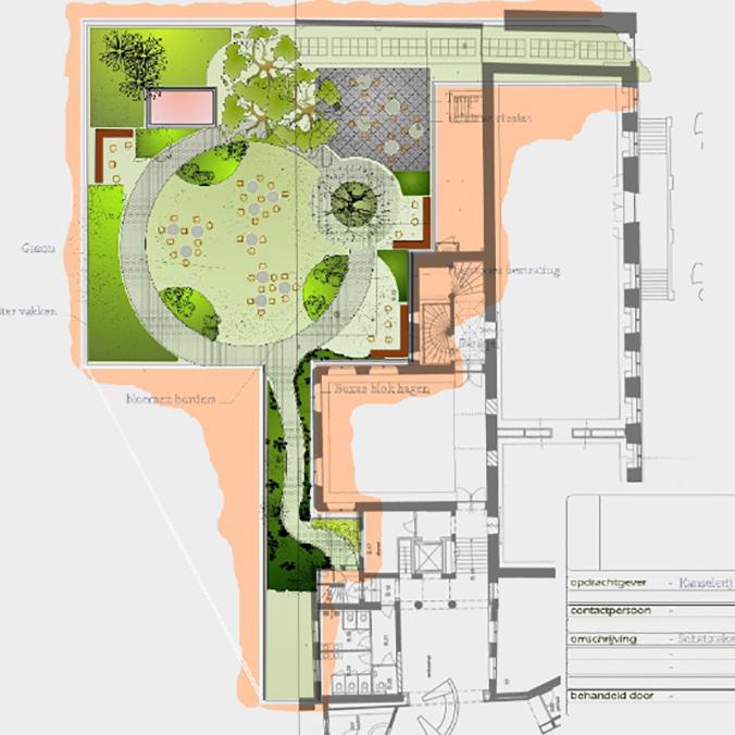 Sponsor Programma | De Bloemetjes Buiten Zetten | De Kanselarij Leeuwarden