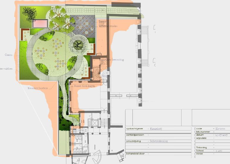 Tuin Ontwerp De Kanselarij Leeuwarden | Nordwin College